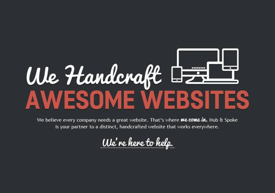 A great web design by Hub & Spoke, Columbia, MO: