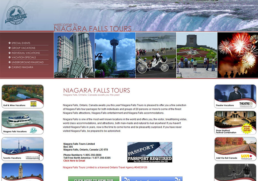 A great web design by ACTION Corporation, Saint Catharines, Canada: