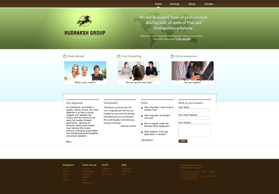 A great web design by Design by Anaami, Windsor, Canada: