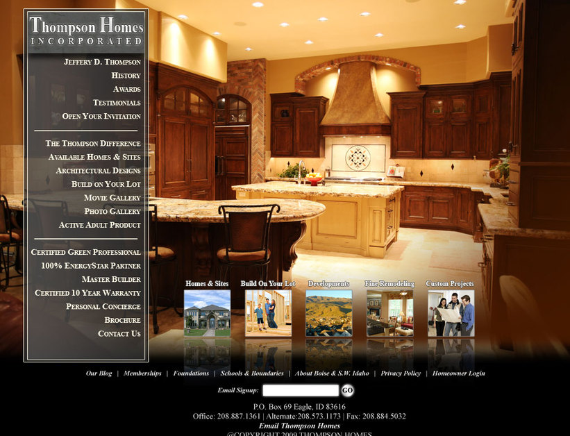 A great web design by Hinsel.com, Boise, ID: