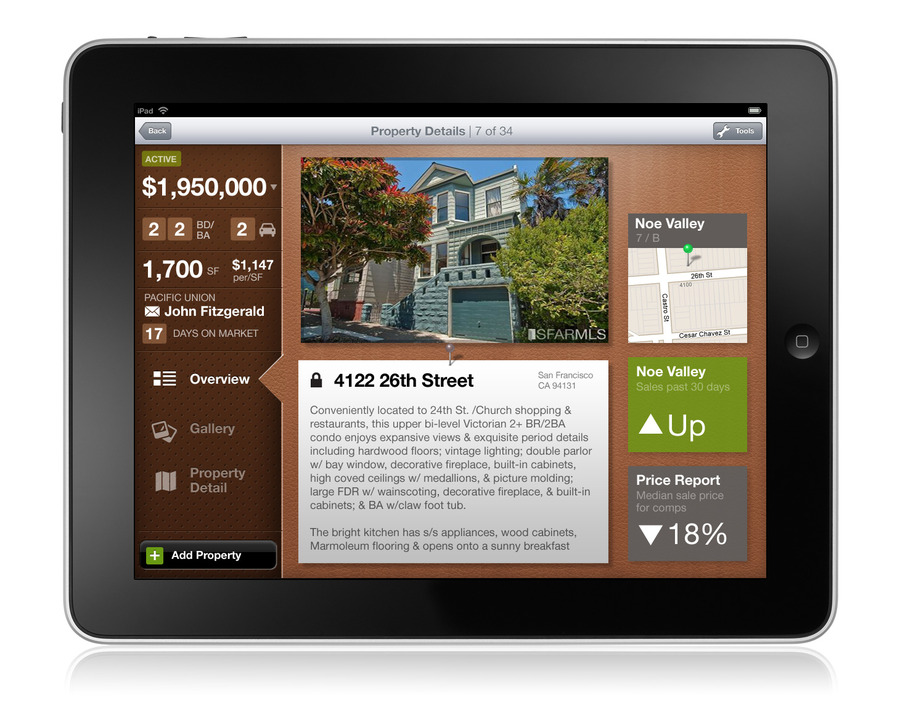 A great web design by Good Dog Design, San Francisco, CA: Mobile App , Real Estate , iOS (Objective-C)