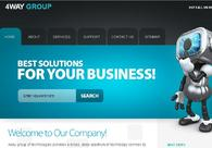 A great web design by 4way group, New Delhi, India:
