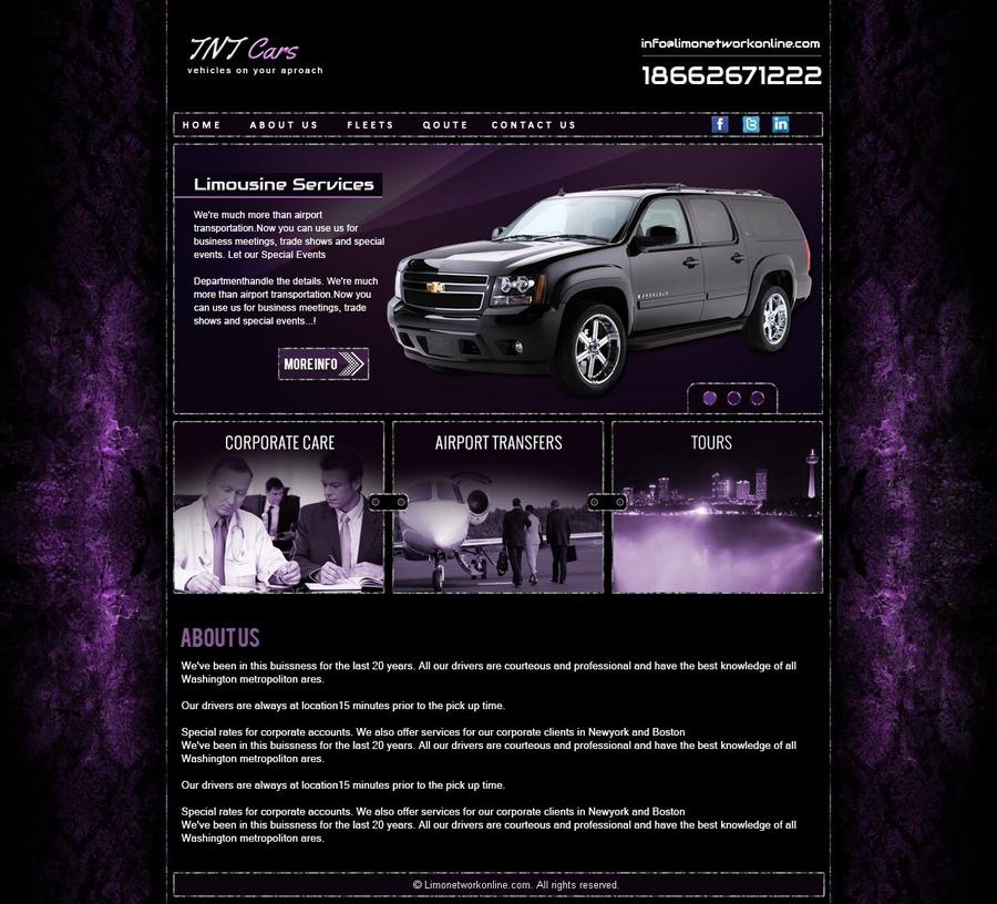 A great web design by Cool blue networks, Lexington, KY: