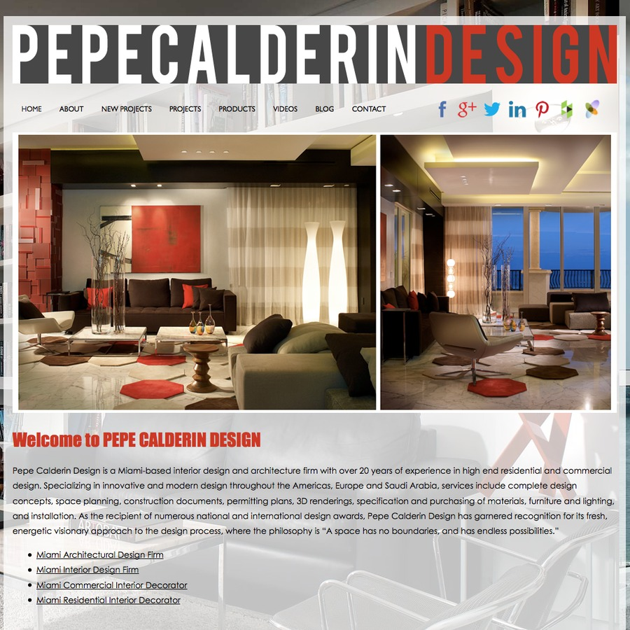 A great web design by 852 Creative Marketing & Design, Fort Lauderdale, FL: