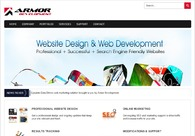 A great web design by Armor Development, Detroit, MI: