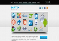 A great web design by MAT Consultants, Los Angeles, CA: