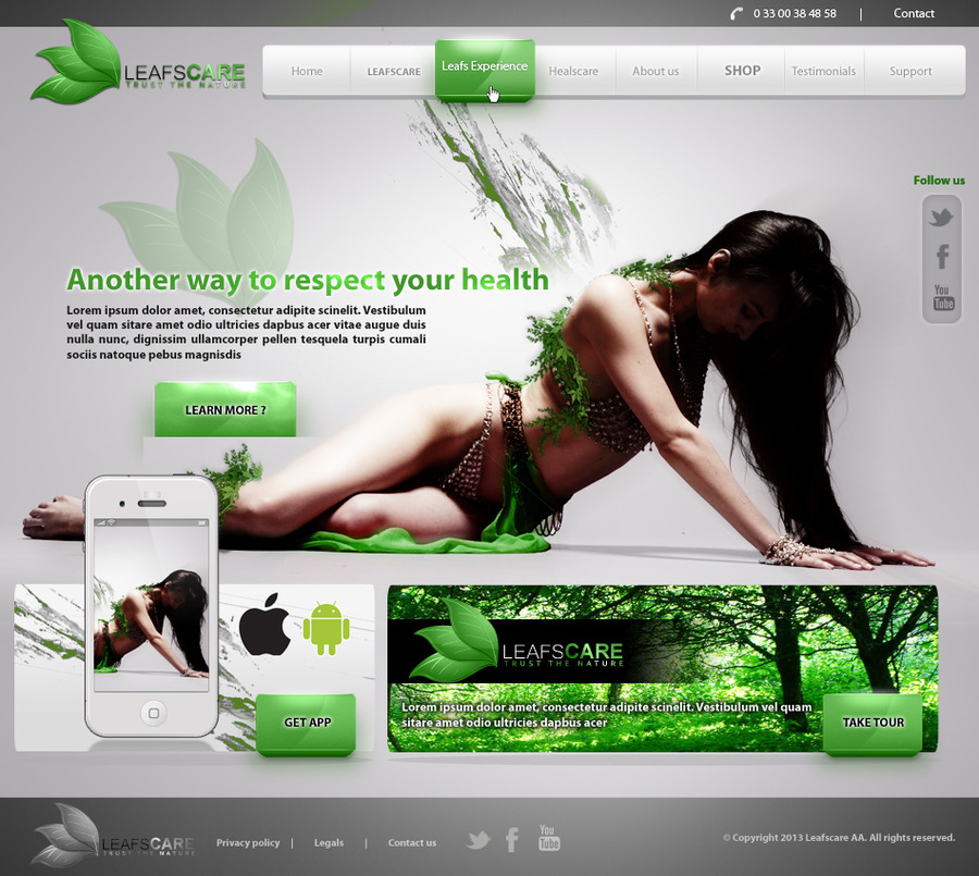 A great web design by yiolo, France, RÉunion: