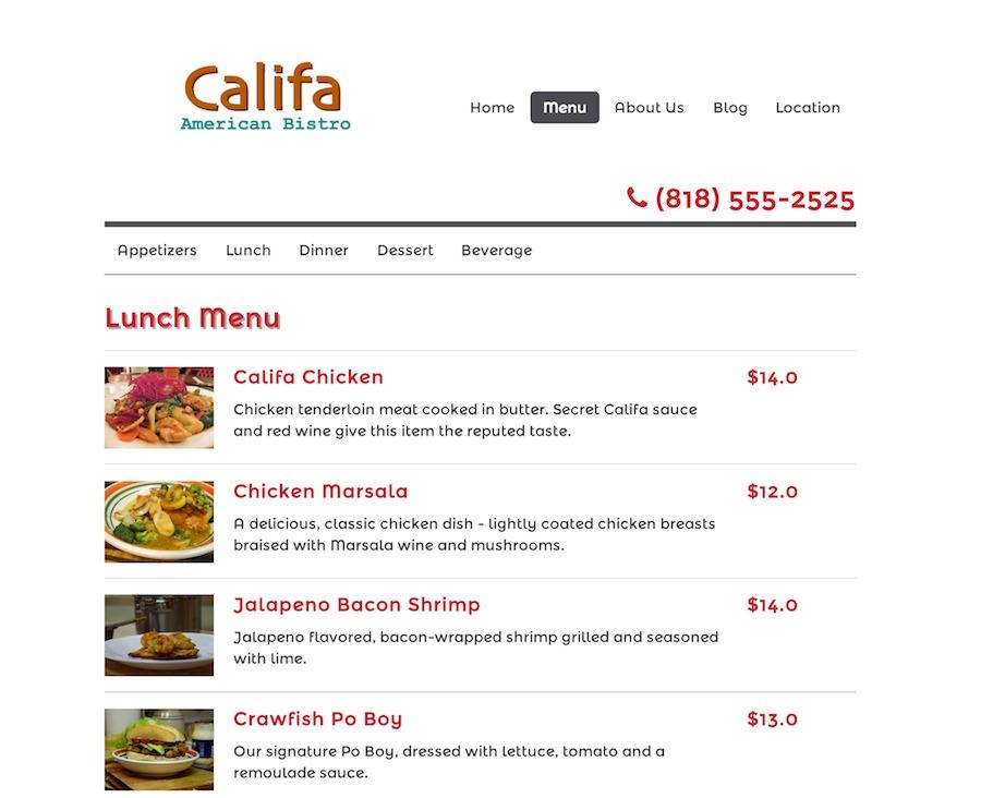 A great web design by SlickWebsite, Los Angeles, CA: