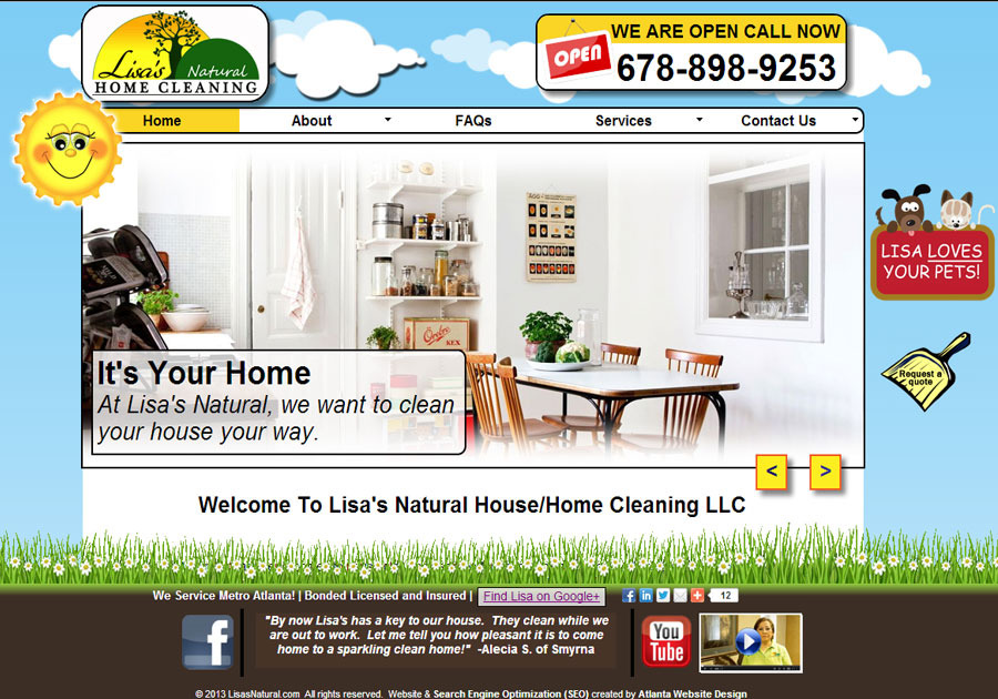 A great web design by Webstuffguy.com, Atlanta, GA: