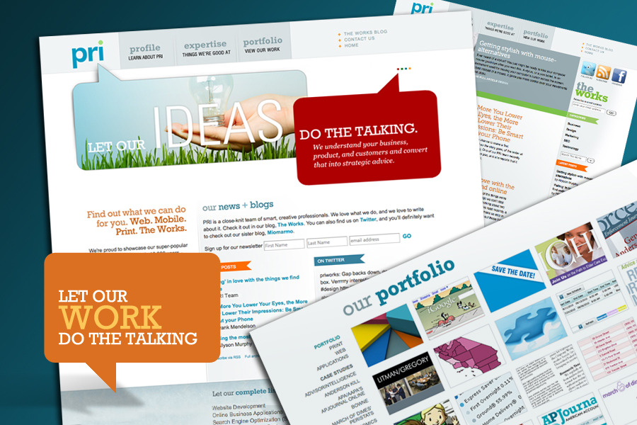 A great web design by PRI , Washington DC, DC: