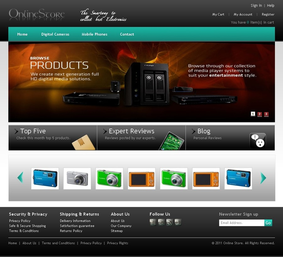 A great web design by FME Extensions, Austin, TX: