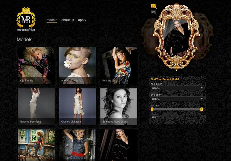 A great web design by Molberts, Riga, Latvia: