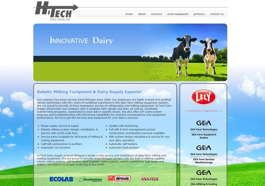 A great web design by Jemco Logics, Grand Rapids, MI: