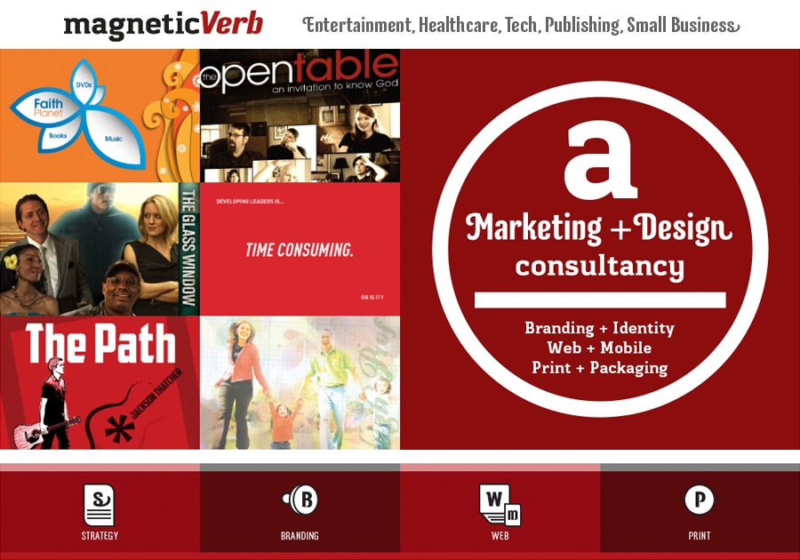 A great web design by MagneticVerb, Nashville, TN: Responsive Website