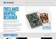 A great web design by Jack Hooker, Brighton, United Kingdom: Website, Portfolio , Internet , Wordpress