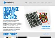 A great web design by Jack Hooker, Brighton, United Kingdom: Website, Portfolio , Internet , Wordpress