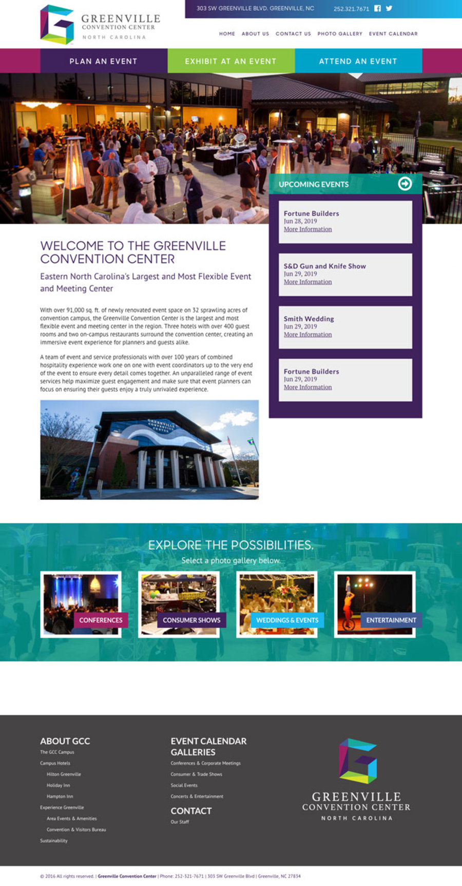 A great web design by Tony Shaw - Freelance Web Designer, Greenville, SC: Responsive Website, Marketing Website , Hospitality , Other