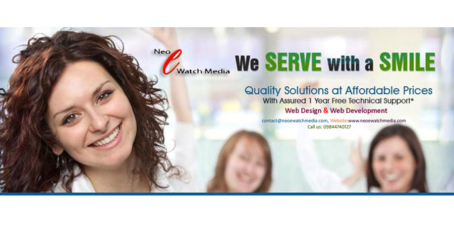 A great web design by Neo e-Watch Media, Bangalore, India: Responsive Website, Web Application , Education , PHP