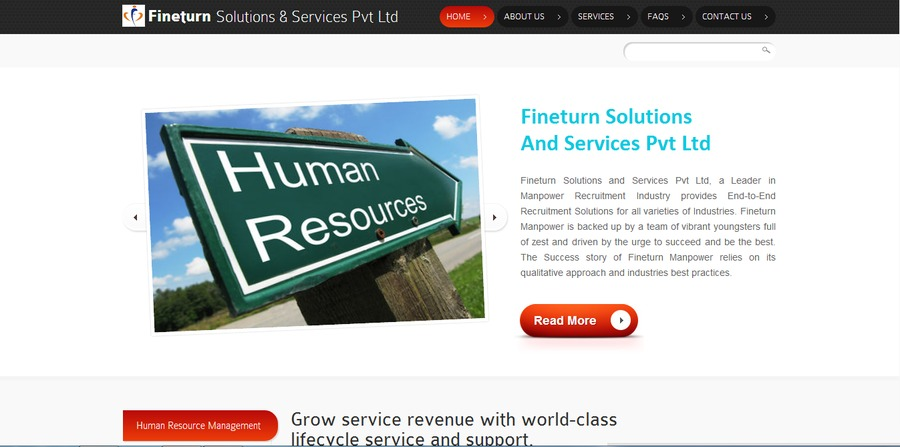 A great web design by Techno Script Solutions, Chennai, India: