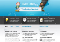 A great web design by PSDtoXHTML.co.uk, London, United Kingdom: