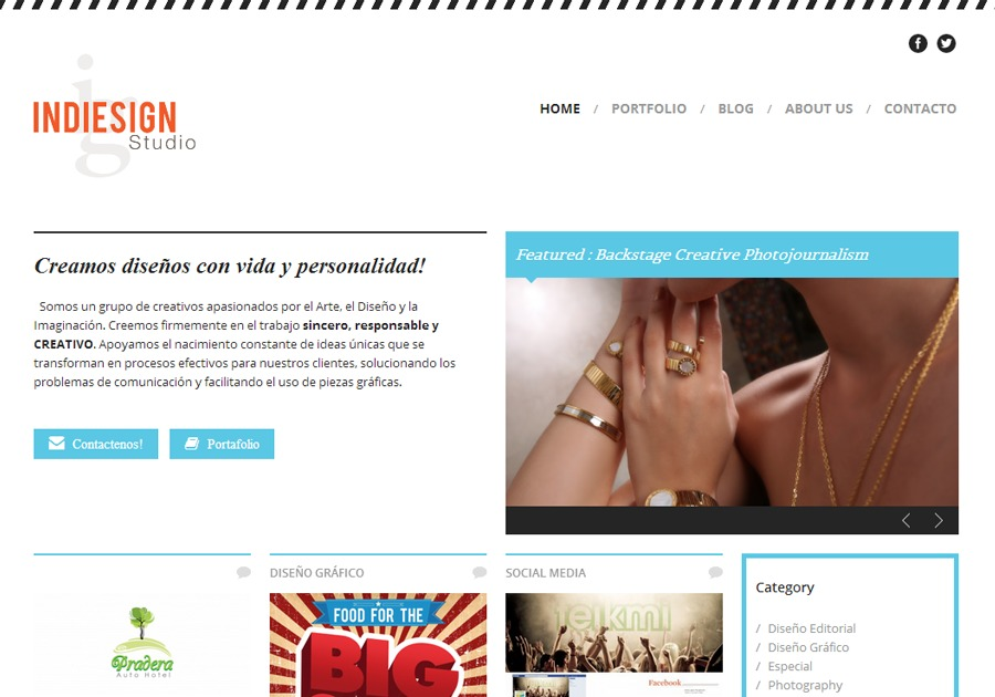 A great web design by Epic Web Studio, San Salvador, El Salvador: Responsive Website, Portfolio , Marketing , Wordpress