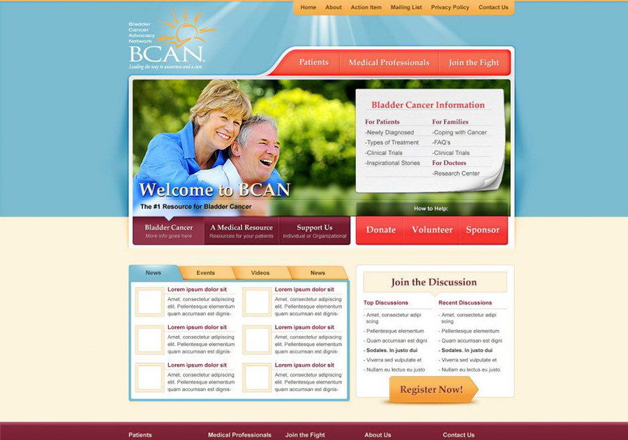 A great web design by D6 Interactive, Dallas, TX: Responsive Website, Non Profit , Wordpress