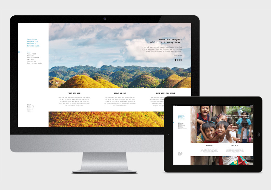 A great web design by Elijah Zapien, Los Angeles, CA: