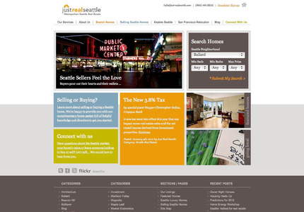 A great web design by Creation-1 Interactive, Seattle, WA: Website, Marketing Website , Real Estate , Wordpress