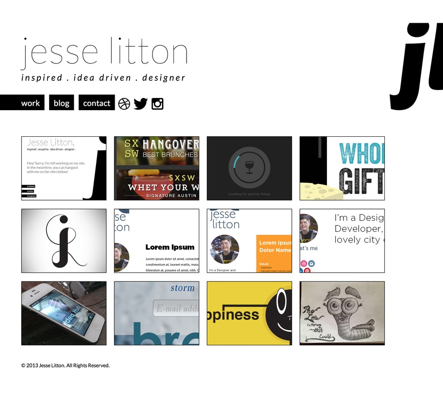 A great web design by Jesse Litton, Denver, CO: Responsive Website, Portfolio , Other, Wordpress