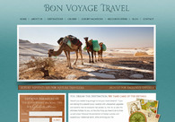 A great web design by The Salty Olive, Sacramento, CA: Website, Marketing Website , Travel , Wordpress