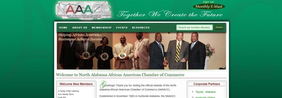 A great web design by HUNTSVILLE PR, Huntsville, AL: