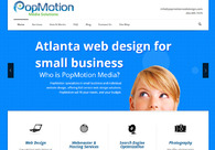 A great web design by PopMotion Media, Atlanta, GA: