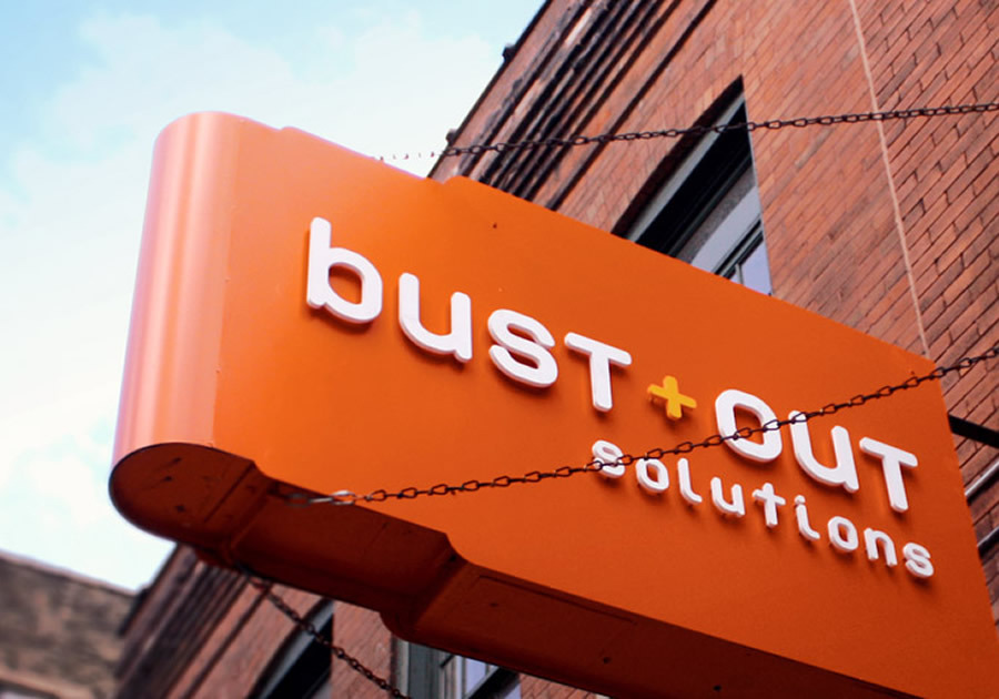 A great web design by Bust Out Solutions, Inc., Minneapolis, MN: