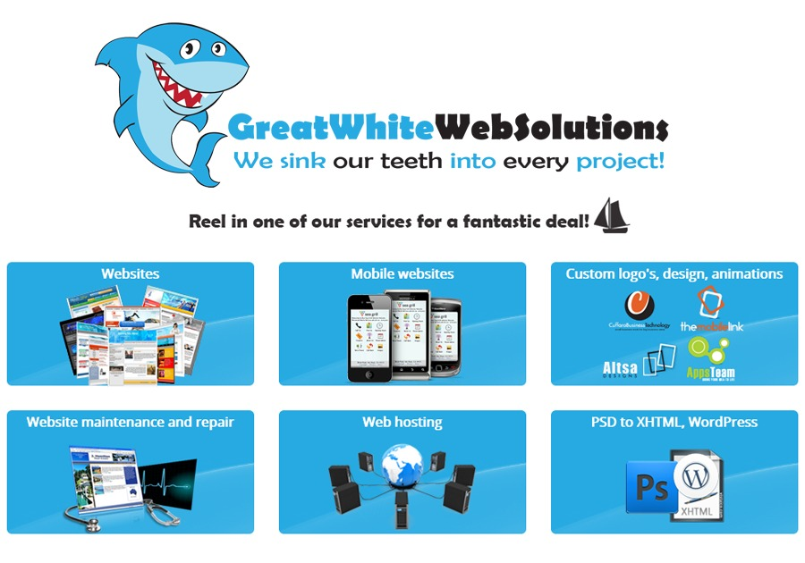 A great web design by Great White Web Solutions, San Francisco, CA: