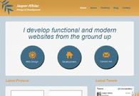 A great web design by Jasper Alblas, Copenhagen, Denmark: