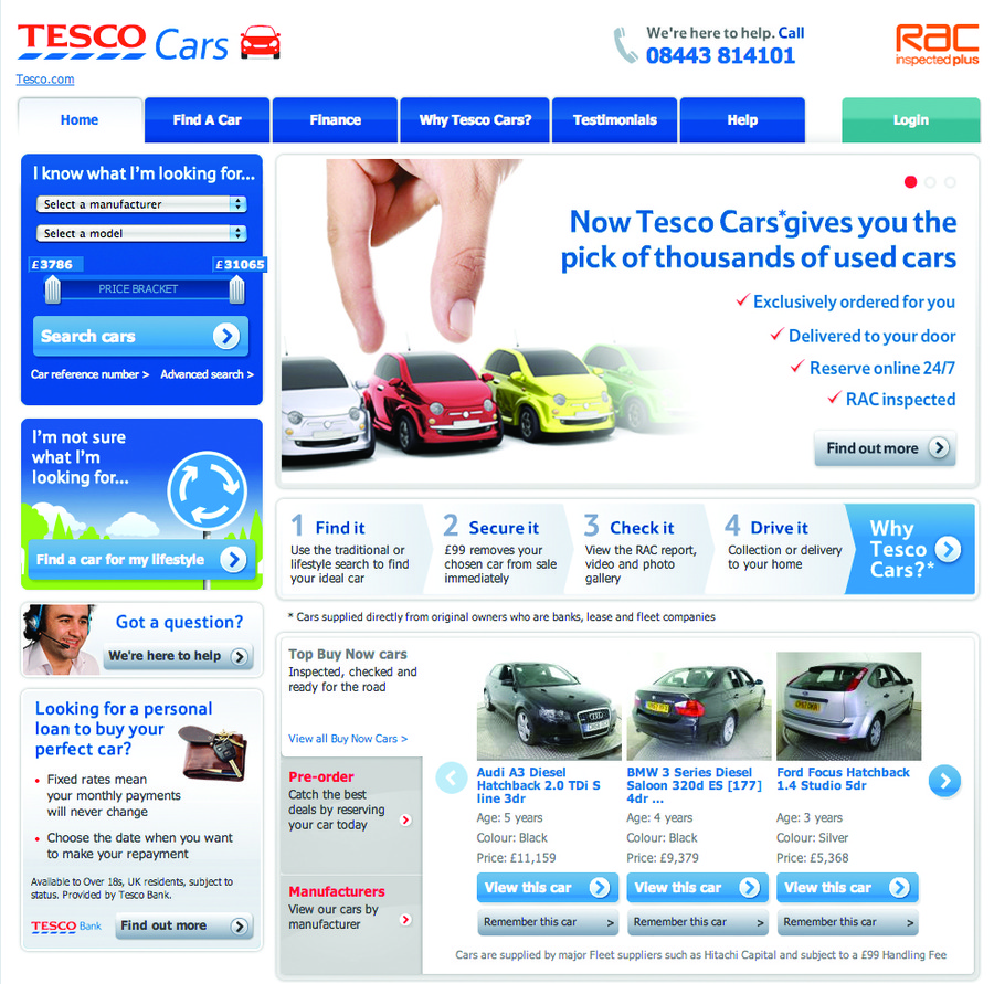 A great web design by Sagittarius Marketing, London, United Kingdom: Automotive