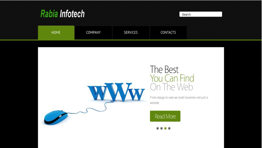 A great web design by rabiainfotech, Chennai, India: