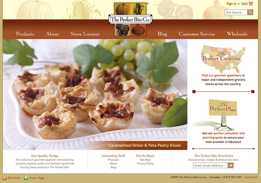 A great web design by silverECHO, Los Angeles, CA: