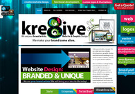 A great web design by Kre8iveCanada: