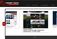 A great web design by Unisoft Geeks, Aurangabad, India: Website, Web Application , Technology , ASP.NET
