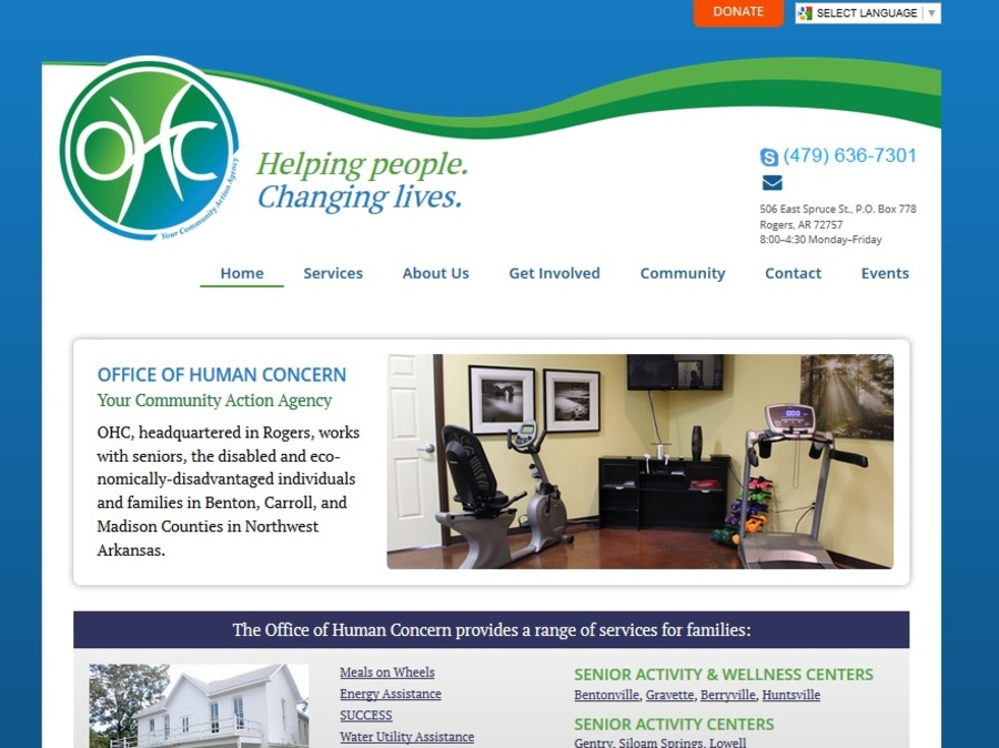 A great web design by Haden Interactive, Fayetteville, AR: Responsive Website, Marketing Website , Healthcare, Wordpress