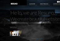 A great web design by Resuno, London, United Kingdom: