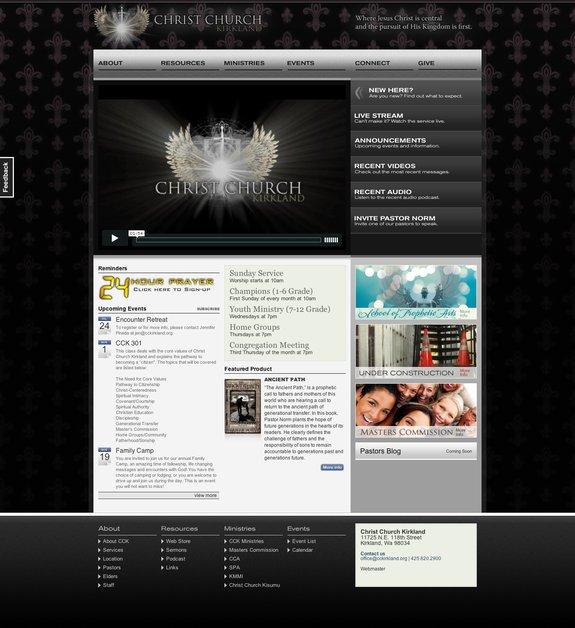 A great web design by TrakDesign, Seattle, WA: