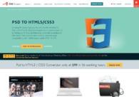 A great web design by CSSChopper, Noida, India: