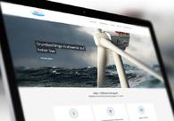 A great web design by dotcom Group, Stuttgart, Germany: