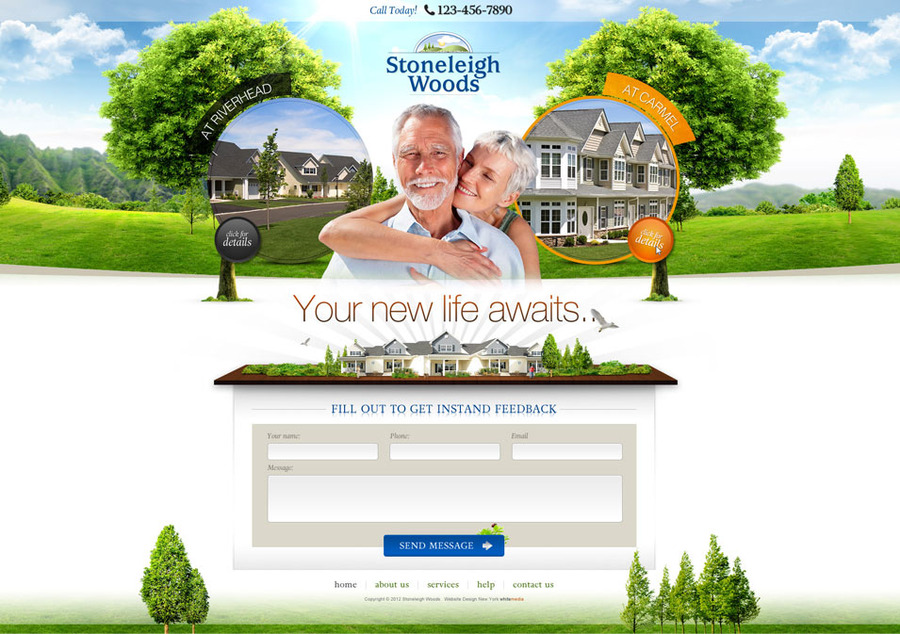A great web design by WhiteMedia.com, New York, NY: Website, Marketing Website , Real Estate , PHP