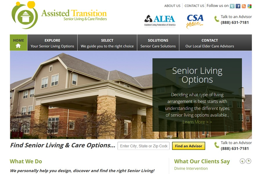 A great web design by KC SEO Company, Kansas City, KS: