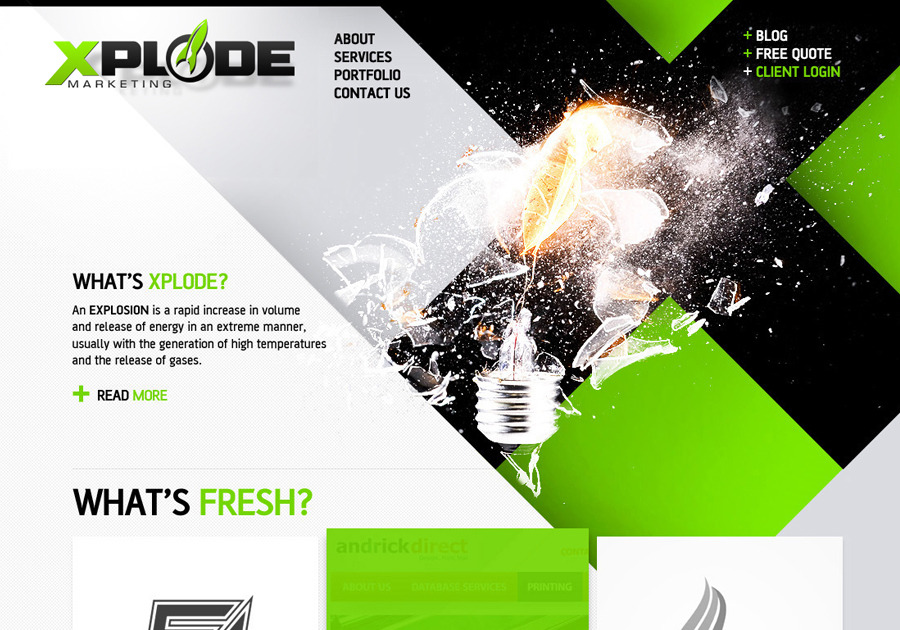 A great web design by Xplode Marketing, Sarasota, FL: Responsive Website, Marketing Website , Technology , Wordpress