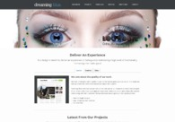 A great web design by Dreaming Blue, Los Angeles, CA: Responsive Website, Portfolio , Technology , PHP