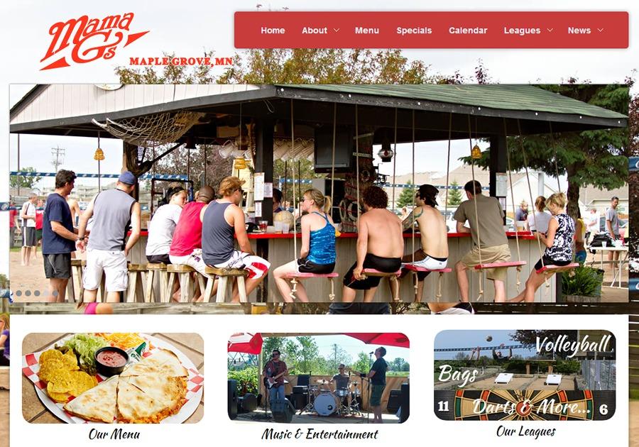 A great web design by Arrayi Systems, Minneapolis, MN: Responsive Website, Other, Restaurants & Bars, Wordpress
